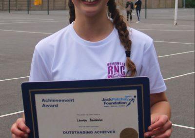Lauren JP winner