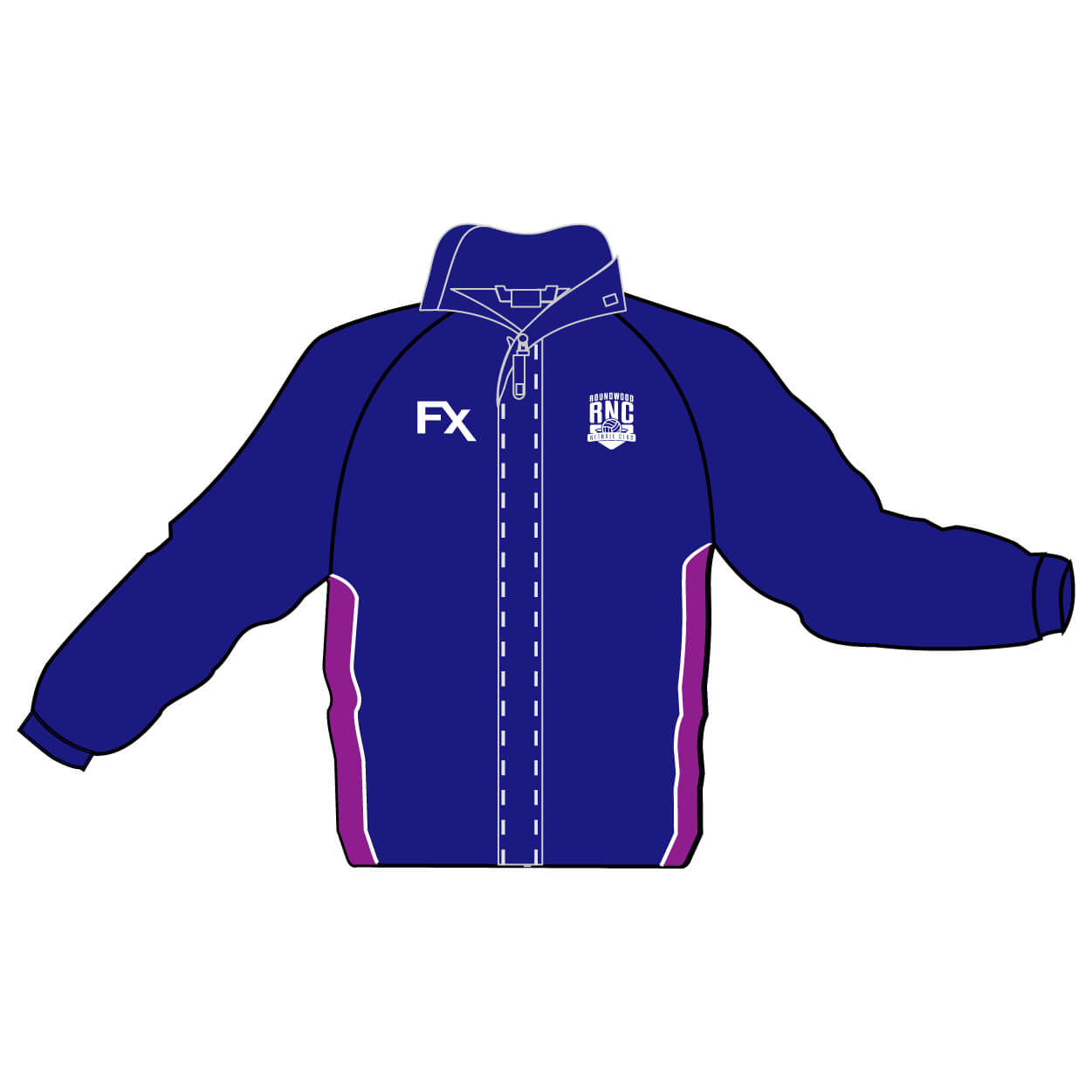 roundwood netball club_Jacket
