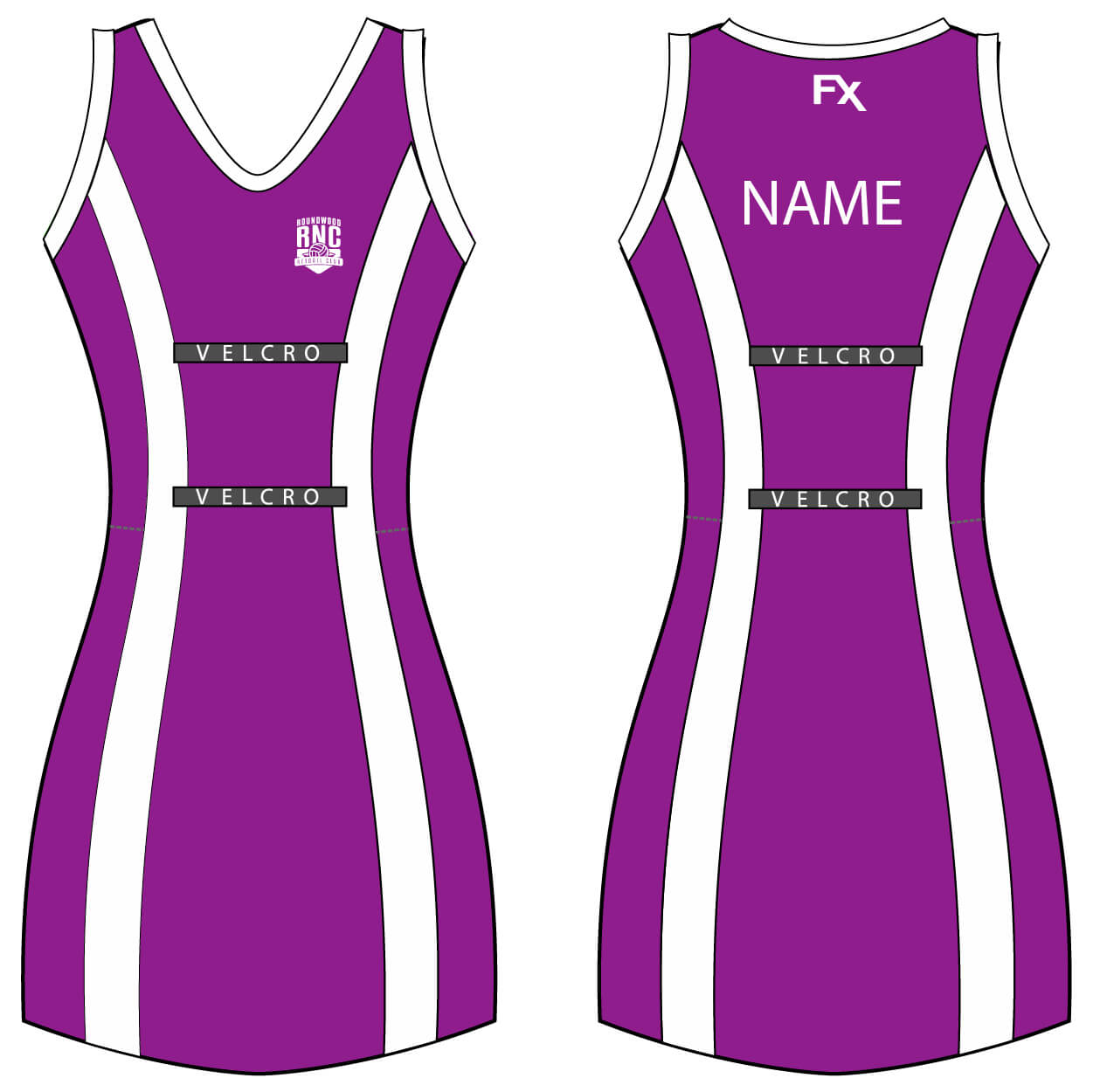 roundwood netball club_Netball Dress