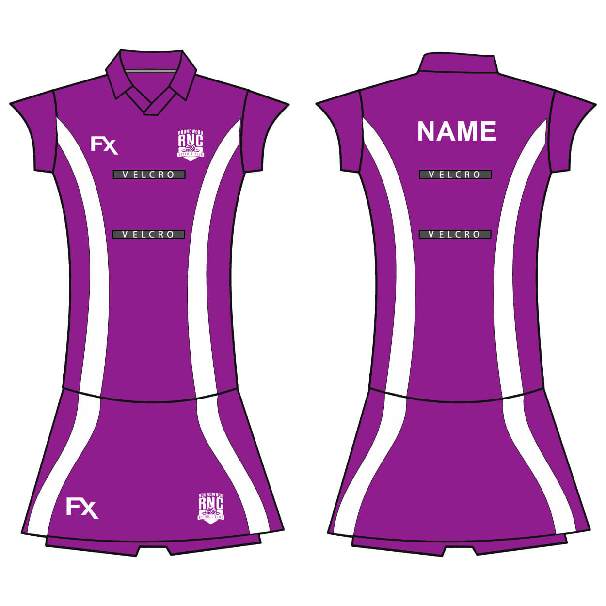 roundwood netball club_Netball Shirt and Skort