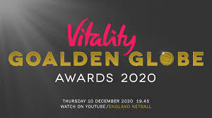 Amy Rendle wins the Vitality Regional Goalden Glove Award for Grassroots Coach of the year!