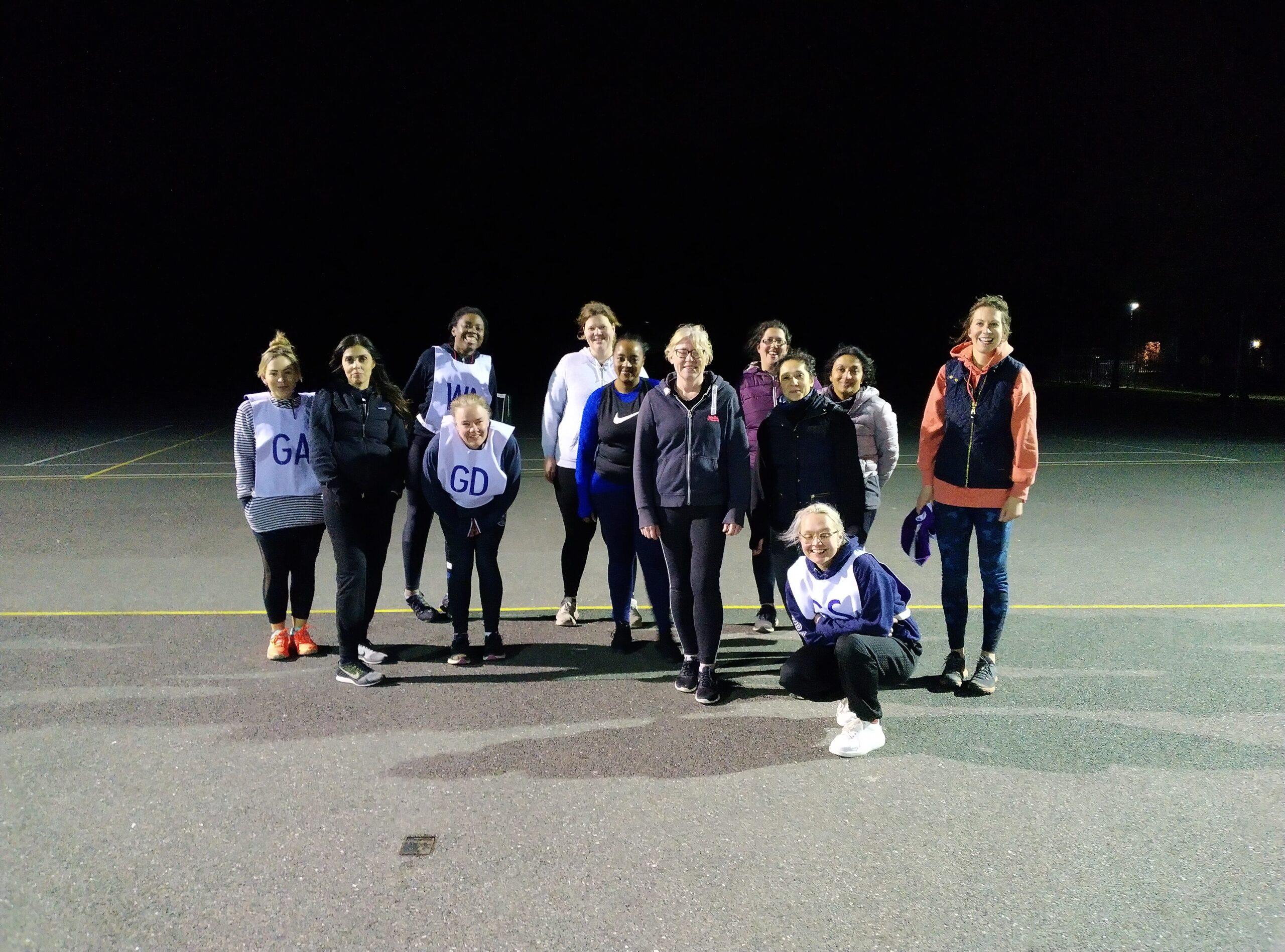 Social and Back to Netball @ Roundwood Netball Club!