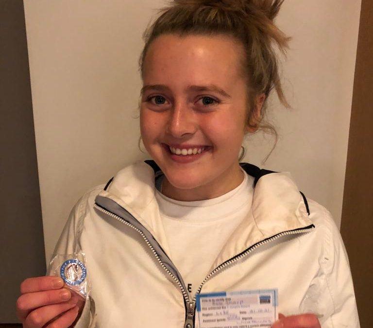 Rose Sharp achieves her C Award Umpiring qualification